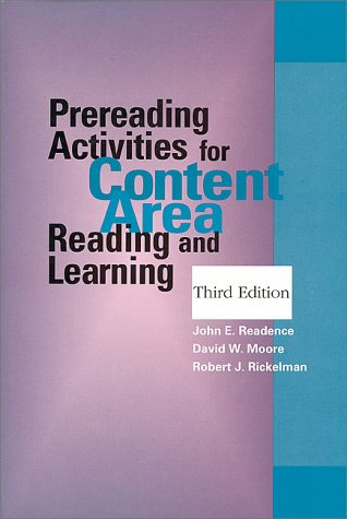 Prereading Activities for Content Area Reading and Learning (Third Edition)
