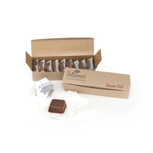 Helliemae's Passion Fruit Caramels - Hand-Stamped Gift Box 9.5 oz