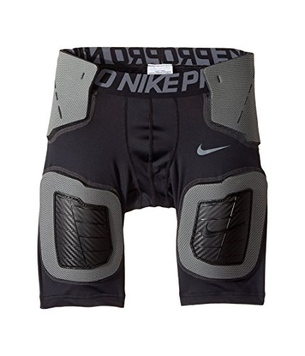 (Boy's Nike Pro Hyperstrong Core Short Black/Anthracite/Grey Size Large)