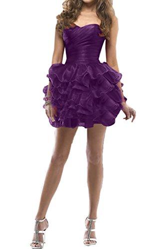 Missdressy - Vestido - plisado - para mujer morado 38