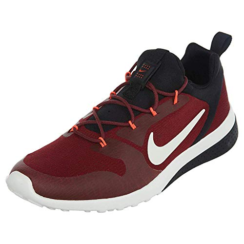 (NIKE Womens Ck Racer Low Top Lace Up Running Sneaker, Red, Size 12.0)
