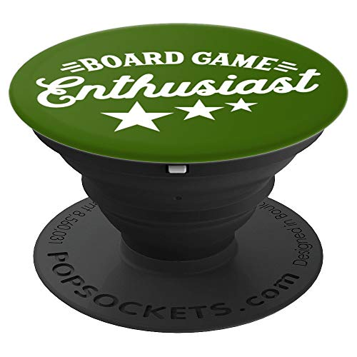 Trendy Nerd Board Game Enthusiast Gift For Nerdy Fans - PopSockets Grip and Stand for Phones and Tablets ()