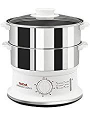 Tefal VC1451 Stainless Steel Convenient Steamer, White, COS2530738