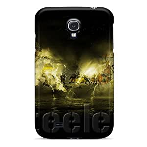 Samsung Galaxy S4 Lyl16572Yqts Customized Nice Pittsburgh Steelers Pattern Scratch Protection Hard Cell-phone Cases -CristinaKlengenberg