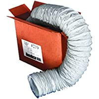 Lambro Industries 219L Flexible Vent Hose 4 in X 50 Ft White-X1239, 1