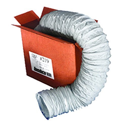 Tubing Duct - Lambro Industries 219L Flexible Vent Hose 1 In X 50 Ft White-X1239, 1