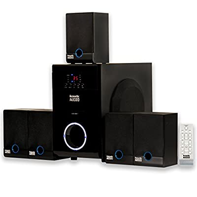 Acoustic Audio AA5817 5.1 Surround Sound Home Entertainment System from Goldwood Sound, Inc.