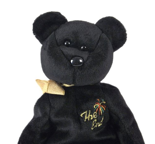 "TY  BEANIE BABIES ""THE END""  BEAR,RETIRED DATE 12/23/1999,TA"