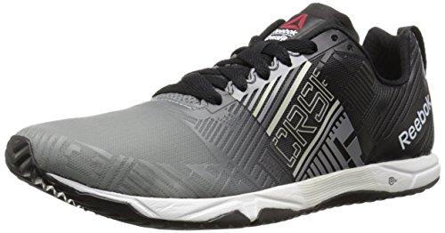 Reebok Men's Crossfit Sprint 2.0 SBL Training Shoe Flat Grey/Black/Steel/White