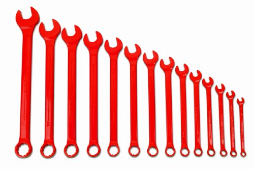 Williams WS-1172RSC 14-Piece Red Super Combo Combination Wrench Set