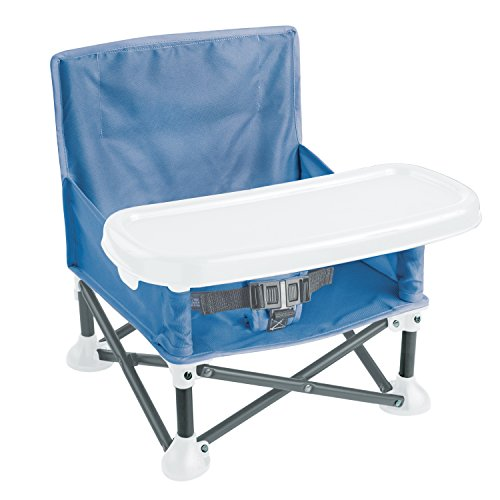 Summer Infant Pop N' Sit Booster, Blue -