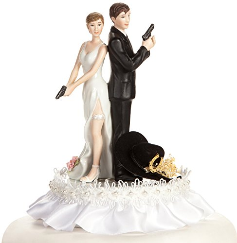 Super Sexy Western Cowboy Wedding Cake Topper: Skirt Colo...