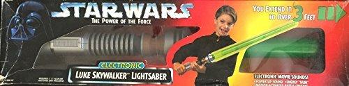 (Star Wars Power of the Force Electronic LUKE SKYWALKER LIGHTSABER)
