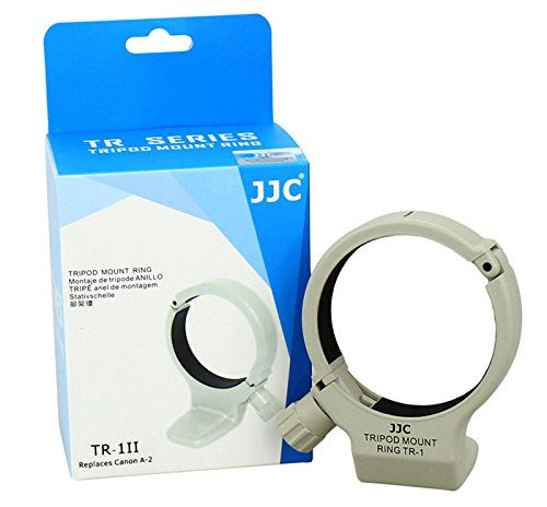 JJC TR-1 Professional Replacement Canon A-2 Metal Tripod Collar Mount Ring for the Canon EF 70-200mm F/4L USM, EF 300mm F/4L USM and EF 400mm F/5.6L USM SLR Lenses +eFonto Cleaning Paper Tissue Gift by JJC