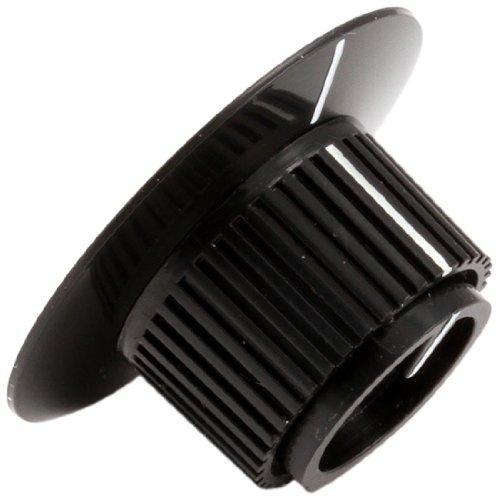 Lang 2R-70701-28 Black Knob, 1/4-Inch