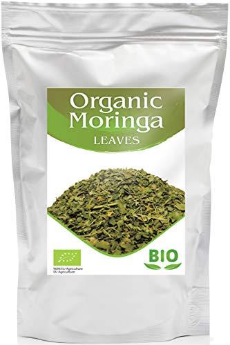 Hojas de Moringa Organica | Te de Hierbas Suelto | Bien Tamizado | Rica en Proteinas | Egipcio | 500G