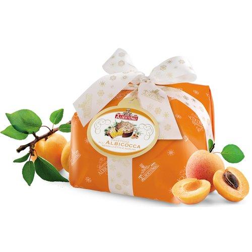 Albertengo Apricot Panettone Cake, 2.2 Pound