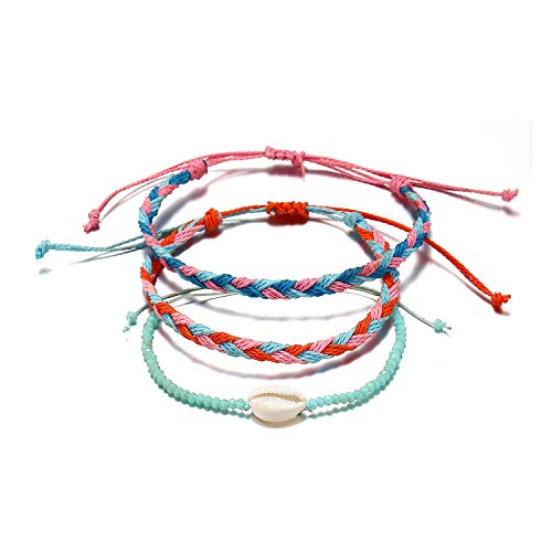 Starain 6 Pcs Summer Wave Beach Bracelet Women
