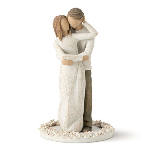Willow Tree Cake Topper, Together (Flower Soft Christmas Toppers)