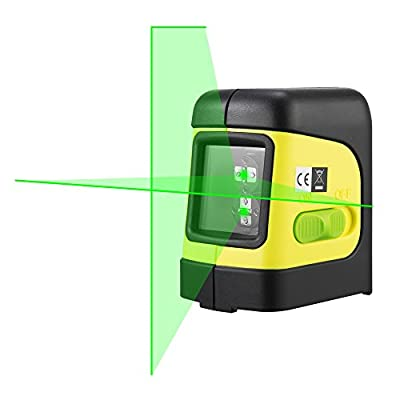 Firecore Green Cross-Line Laser Level with Magnetic Bracket