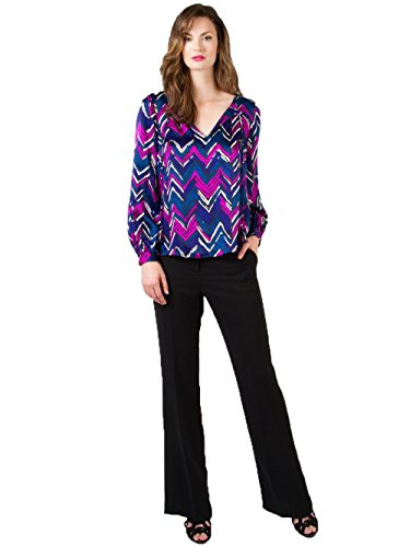 Alice & Trixie Womens Jordan Top Magenta Multi Extra Small by Alice & Trixie
