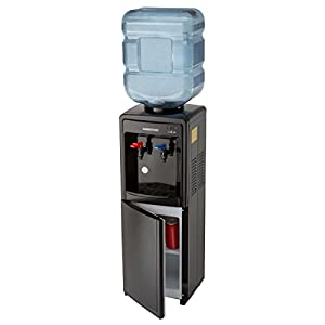 cold water dispenser farberware fw29919 freestanding and cold water cooler 11061