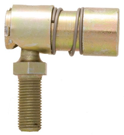 Uxcell a15041500ux0106 Machine 8mm x 25mm Male Thread L Shaped Ball Joint Rod End Bearing