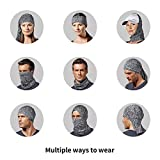 3 Pcs Neck Gaiter, Breathable Windproof Face Cover