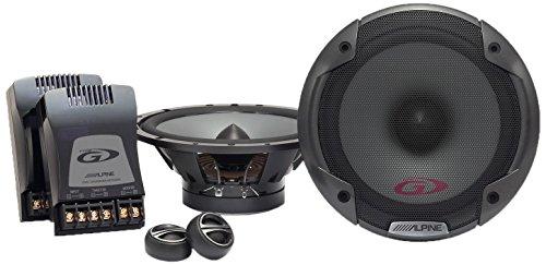 Alpine SPG-17CS 2-Way Speaker ,Black