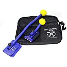Total Golf Trainer 2.0 Kit – Golf Training Aids – Golf Swing Trainer - Teaches and Corrects Golf Swing, Posture and Hip Rotation, Wrist, Elbow and Arm Position