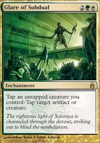 Magic: the Gathering - Glare of Subdual - - Online Glares