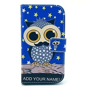 MOFY- Star Night Owl Patr—n Soft Case para Samsung Galaxy I8262 Core