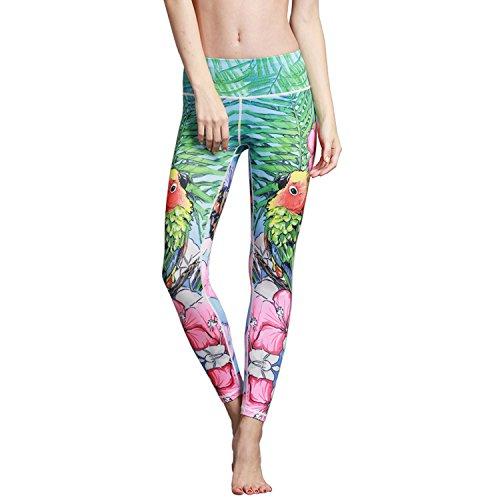 Light Encounters 2 (MTSCE Yoga Pants Yoga Capris Printed Workout Leggings)