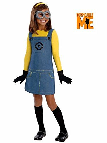 [Female Minion Costume - Medium] (Child Female Minion Costumes)