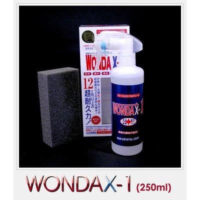 WONDAX(ワンダックス) ガラス質ボディ保護剤 WONDAX-1(ワンダックスワン) 250ml[通販用梱包品] B07D7B2XCG