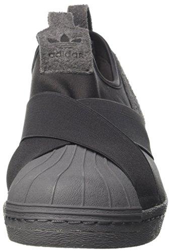 adidas Men's Superstar Slipon Low-Top Sneakers Black (Utility Black F16/Utility Black F16/Grey Five F17) vYMalGcDDW