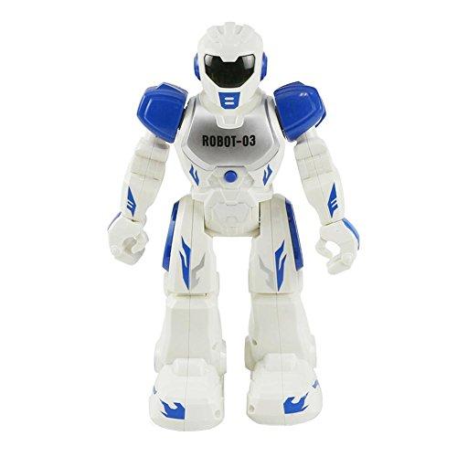 Domybest ラジコンロボット ミニ 人型ロボット 赤外線リモコン インテリジェント 子供おもちゃ USB充電 多機能 英語プログラミング 可愛い 誕生日プレゼント 人気