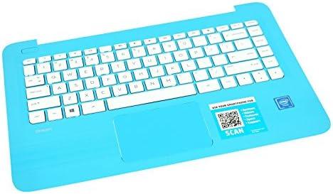 新しい純正PTK for HP Chromebook 14-axシリーズパームレストタッチパッドキーボード905569–001