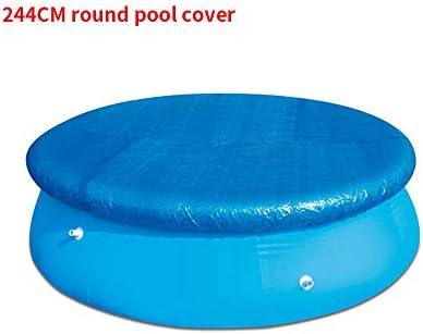 Laiashley Schwimmbeckenabdeckung, Winterbeckenabdeckung für rundes Schwimmbecken, Anti-Staubtuch