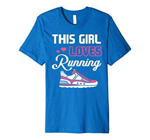 This Girl Loves Running Cross Country Track & Field -