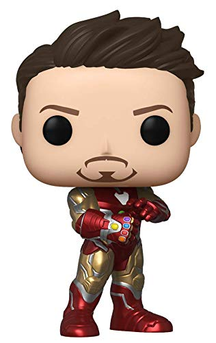 Funko Pop! Marvel: Avengers Endgame - Tony Stark with Gauntlet, Fall Convention Exclusive