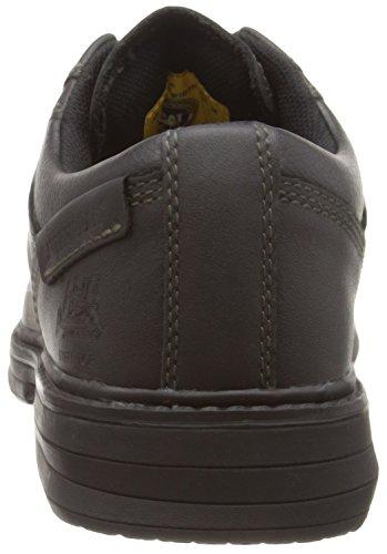 Cat Footwear - Calzado de protección de cuero para hombre Negro