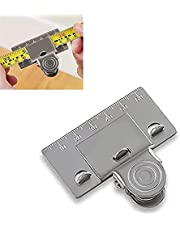 Measuring Tape Clip, Precision Tape Measuring Tool, Measuring Tape Clip for Corners, Helps You Get an Accurate Reading in Curves, Measure Precision Measuring Tool