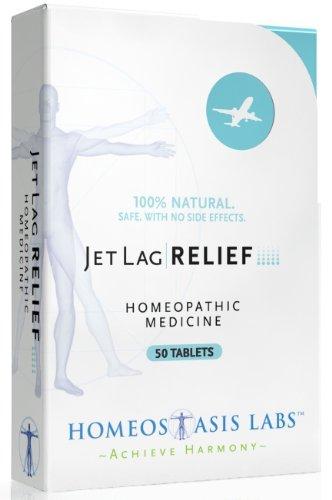 L'homéostasie Labs secours Jet Lag, 50-Count