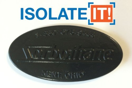 Sorbothane Durometer Selector Sample Pack - 30, 40, 50, 60, & 70 Durometer by Isolate It!