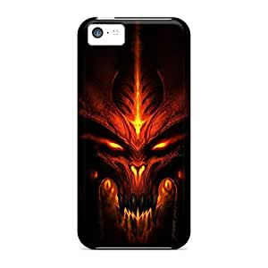 Awesome Design Diablo 3 Hard Case Cover For Iphone 5c