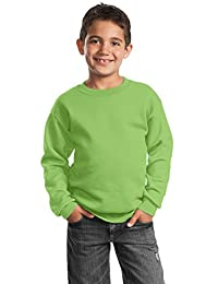 Port & Company Boys' Crewneck Sweatshirt