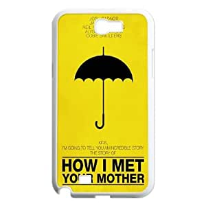 DIY Case Cover for samsung galaxy note2 n7100 w/ How I Met Your Mother image at Hmh-xase (style 9)