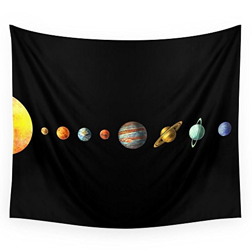 Society6 Solar System Wall Tapestry Large: 88'' x 104'' by Society6