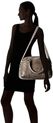 FRYE Melissa Domed Satchel Leather Handbag